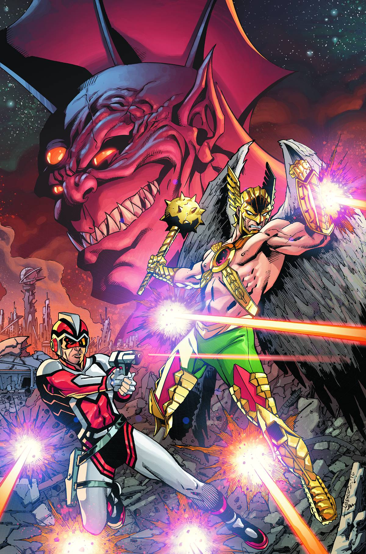 Death of Hawkman #1 (of 6)