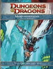 Dungeons & Dragons RPG - 4th Edition: Forgotten Realms: Menzoberranzan, City of Intrigue