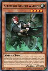 Subterror Nemesis Warrior - TDIL-EN082 - Rare - 1st Edition