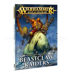 Battletome Destruction: Beastclaw Raiders (softback) ( 95-01-60-N )