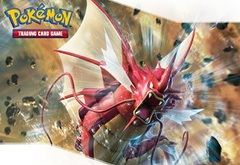 POKEMON DECK BOX - SHINY MEGA GYARADOS