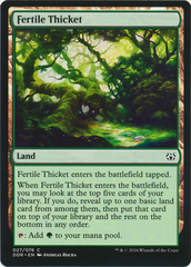 Fertile Thicket on Channel Fireball