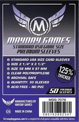 100 ct Standard USA Card Sleeves (MDG-7046)
