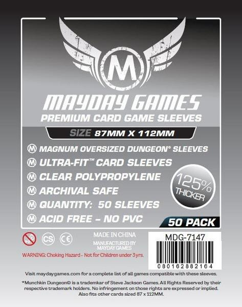 50 ct Magnum Oversized Dungeon Card Sleeves