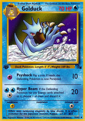 Golduck - 35/62 - Uncommon - 1st Edition