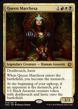Queen Marchesa - Foil
