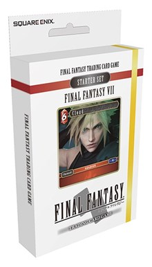 Final Fantasy TCG Fire and Earth VII Starter Deck Set