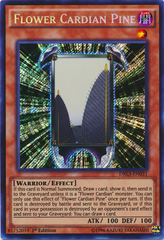Flower Cardian Pine - DRL3-EN031 - Secret Rare on Channel Fireball