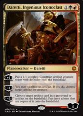 Daretti, Ingenious Iconoclast - Foil on Channel Fireball