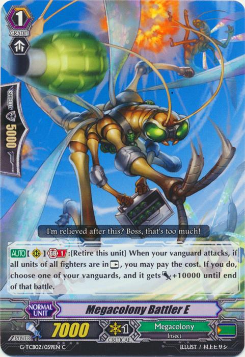 Megacolony Battler E - G-TCB02/059EN - C