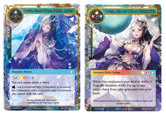 Lumia, Sealed in the Frozen Casket // Lumia, Saint of World Awakening - CFC-043 - SR - Textured Foil