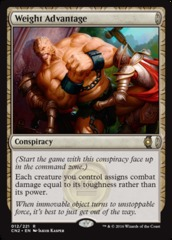 Weight Advantage - Foil