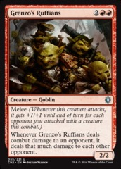 Grenzo's Ruffians - Foil