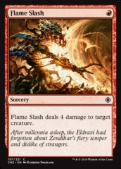 Flame Slash - Foil