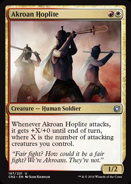Akroan Hoplite - Foil