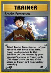 Brocks Protection - 101/132 - Rare - 1st Edition