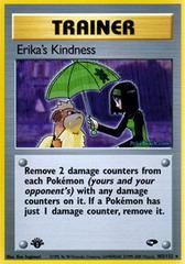 Erika's Kindness - 103/132 - Rare - 1st Edition on Channel Fireball