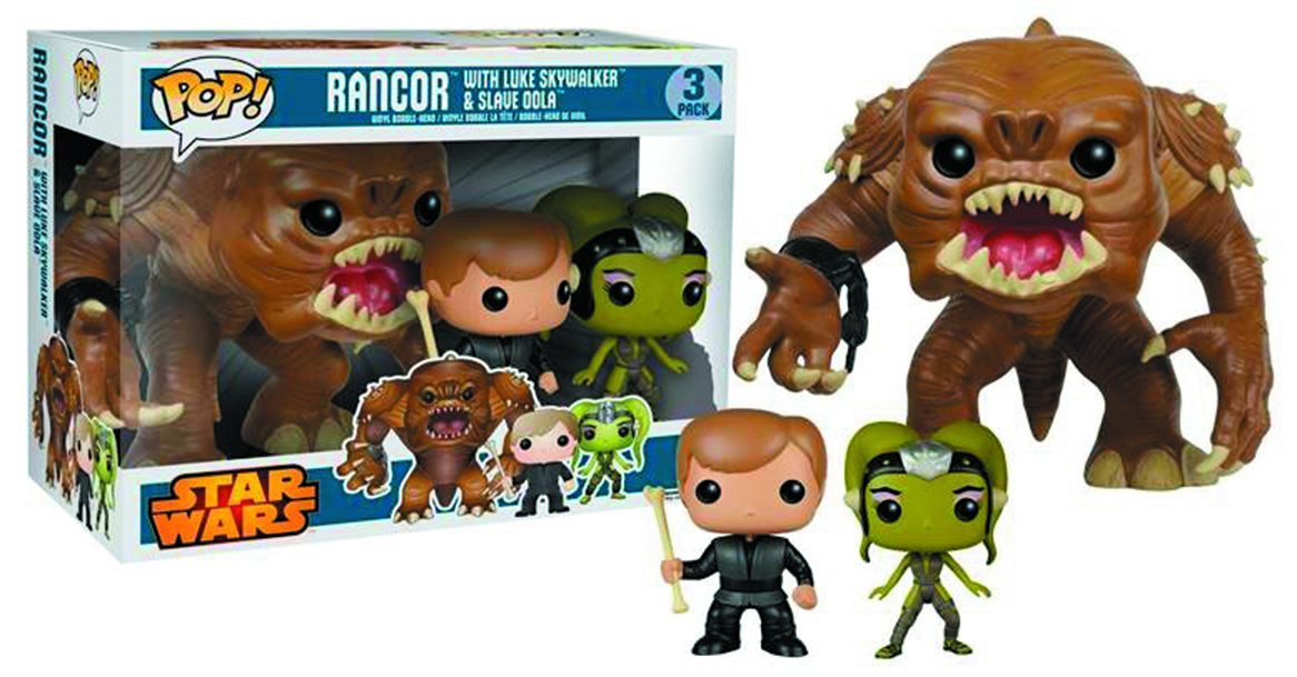 Star Wars Series - #3 - Rancor with Luke & Slave Oola
