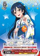 Cotton Kimono Umi Sonoda - LL/EN-W02-E089 - C
