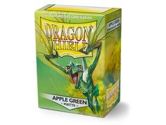 Dragon Shield Sleeves - Matte Apple Green (100ct)