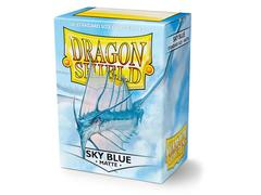Dragon Shield Sleeves - Matte Sky Blue (100ct)