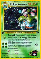 Erika's Venusaur - 4/132 - Holo Rare - 1st Edition on Channel Fireball