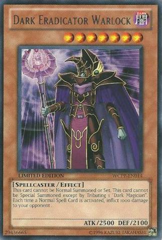 Dark Eradicator Warlock - WCPP-EN014 - Rare - Limited Edition