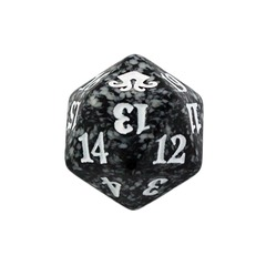 Magic Spindown Die - Eldritch Moon - Black