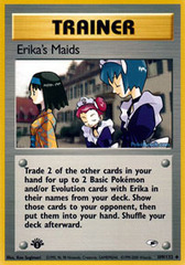Erika's Maids - 109/132 - Uncommon - 1st Edition