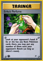 Erika's Perfume - 110/132 - Uncommon - 1st Edition