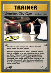 Vermilion City Gym - 120/132 - Uncommon - 1st Edition