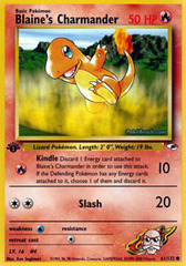 Blaine's Charmander - 61/132 - Common - 1st Edition