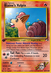 Blaine's Vulpix - 65/132 - Common - 1st Edition