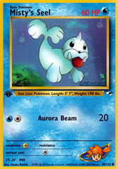 Misty's Seel - 88/132 Common - 1st Edition