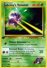 Sabrina's Venonat - 96/132 - Common - 1st Edition
