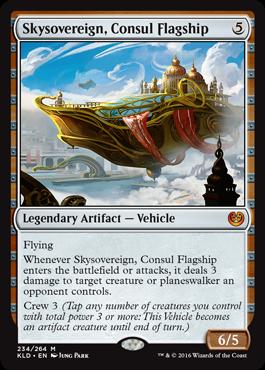 Skysovereign, Consul Flagship - Foil