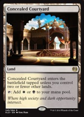 Concealed Courtyard on Channel Fireball