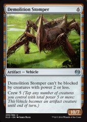 Demolition Stomper - Foil