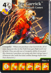 Jay Garrick - The Crimson Comet (Die & Card Combo)