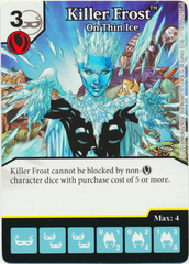 Killer Frost - On Thin Ice (Die & Card Combo)