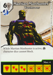 Martian Manhunter - Watchtower (Die & Card Combo)