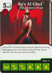 Ras Al Ghul - The Demons Head (Die & Card Combo)