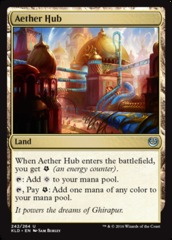 Aether Hub - Foil on Channel Fireball