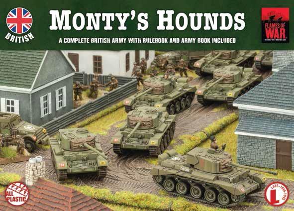 Monty's Hounds Army Box (BRAB08)