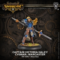 Captain Victoria Haley (Resculpt)