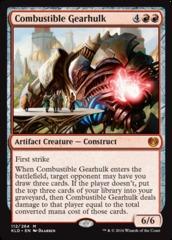 Combustible Gearhulk - Foil