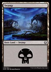Swamp - Foil (258)(KLD)