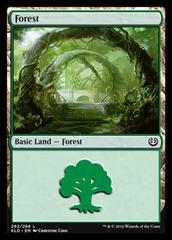 Forest - Foil (262)(KLD)