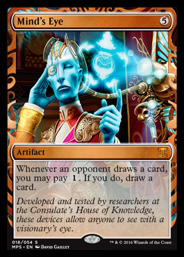 Mind's Eye (Masterpiece Foil)