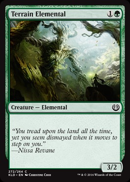 Terrain Elemental - Planeswalker Deck Exclusive